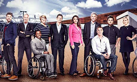 Channel 4's Paralympic presenting team