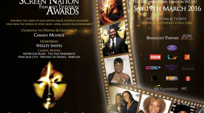 News | Nominees Announced for 11th Screen Nation Film & Television Awards 2016