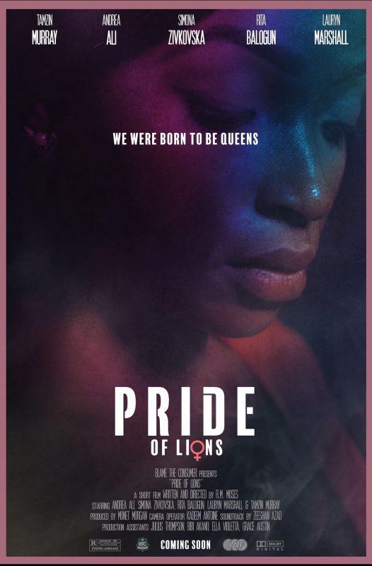 Pride of Lions Poster - Andrea Ali